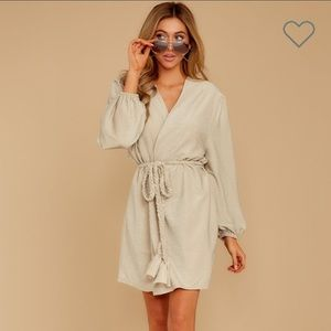 Stunning wrap dress that shimmers
